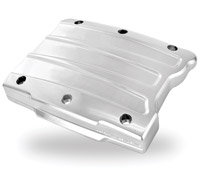 Performance Machine Scallop Chrome Rocker Cover for Twin Cam