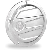 Performance Machine Scallop Chrome 5-Hole Derby Cover