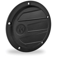 Performance Machine Scallop Black Ops 5-Hole Derby Cover