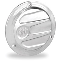 Performance Machine Scallop Chrome 3-Hole Derby Cover