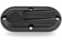 Performance Machine Scallop Flanged Black Ops Inspection Cover
