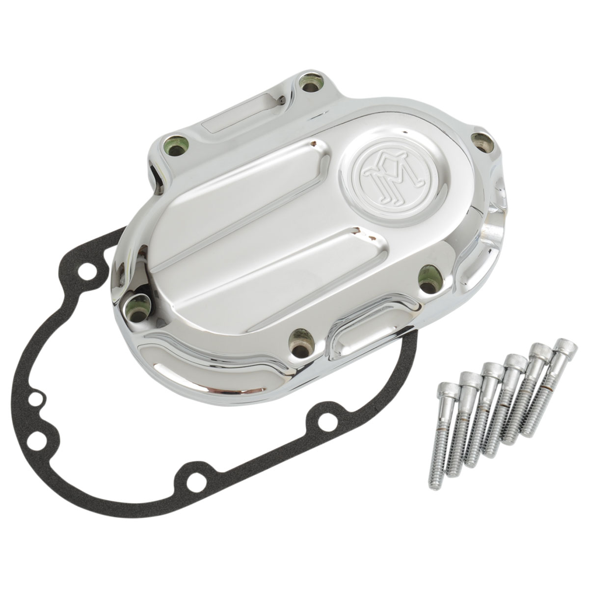 Performance Machine Scallop Chrome 6-Speed Transmission Side Cover