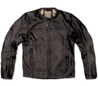 RSD Apparel Men's Black Barfly Leather Jacket