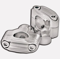 Roland Sands Design Two-Bolt Nostalgia Chrome Risers