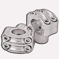 Roland Sands Design Four-Bolt Nostalgia Chrome Risers