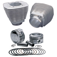 S&S Cycle 3-5/8″ Bore Natural Cylinder and Piston Kit
