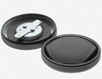 Early-Style Black Gas Cap Set
