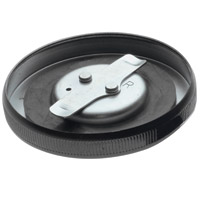Early-Style Black Vented Gas Cap