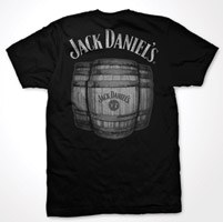 Jack Daniel's Men's Black Barrels T-Shirt