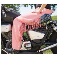 Allstate Leather Inc. Women's Pink Leather Chaps