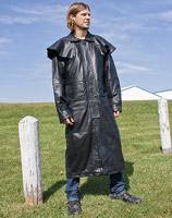 Allstate Leather Inc. Men's Lightweight Lambskin Duster