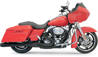Bassani Ceramic Black B4 Exhaust System with Megaphone Muffler