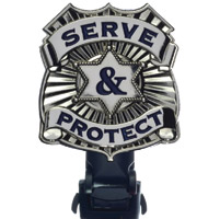 Biker Boot Straps Police Department Boot Strap Clip