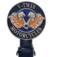Biker Boot Straps V-Twin Motorcycle 6