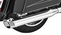 Freedom Performance Exhaust Chrome Racing Slip-On w/ Chrome End Cap