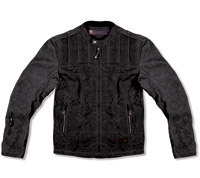 Roland Sands Design Black Textile Vandal Jacket