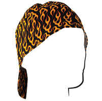 ZAN headgear Flames Welder's Cap