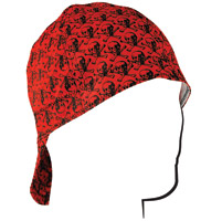 ZAN headgear Skull Pattern Welder's Cap