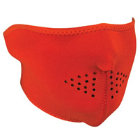 ZAN headgear High Visibility Orange Neoprene Half Mask