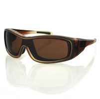 Bobster Zoe Convertible Brown Frame with Anti-fog Brown Lens
