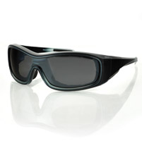 Bobster Zoe Convertible Smoked Crystal Frame with Smoked Lens