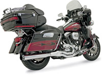 Bassani Chrome B4 Exhaust System with Straight Muffler