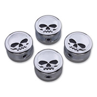 JBN Custom Skull Head Bolt Cover Set
