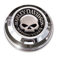 Motordog69 Harley Skull Coin and Fuel Cap Coin Mount