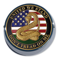 Motordog69 Universal Coin Mount with Don't Tread On Me Coin