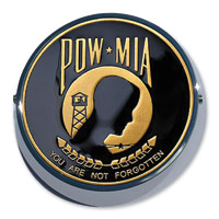 MotorDog69 Universal Set Screw Coin Mount with POW-MIA Coin