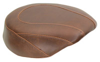 Mustang Brown Wide Tripper Passenger Seat