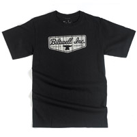 Biltwell Inc. Men's Quality Counts Shield Black T-shirt