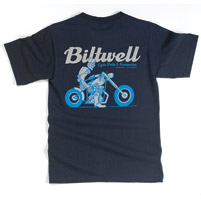 Biltwell Inc. Men's Robot Black T-shirt