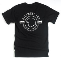 Biltwell Inc. Men's Lid Pocket Black T-Shirt