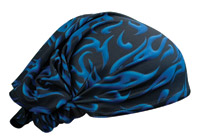 Schampa Blue Mini Flames Dooz's Headwrap
