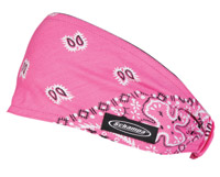 Schampa Pink/White/Black Paisley Mini Dooz′s Headband