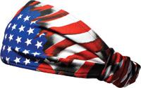 Schampa American Flag Mini Dooz′s Headband