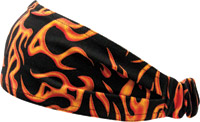 Schampa Red Mini Flames Mini Dooz′s Headband