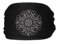 Schampa Silver Sun Jeweled Mini Dooz′s Headband