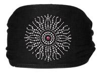 Schampa Silver Sun with Purple Jeweled Mini Dooz′s Headband