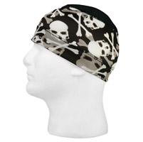Schampa Skull and Crossbones Stretch Skullies Cap