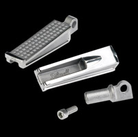 Biltwell Inc. Sanderson Polished Foot Pegs