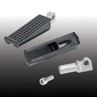 Biltwell Inc. Sanderson Black Foot Pegs