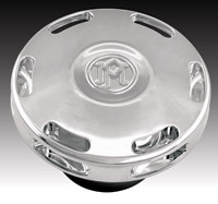 Performance Machine Apex Chrome Dummy Gas Cap