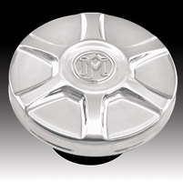Performance Machine Array Chrome Gas Cap