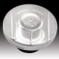 Performance Machine Scallop Chrome Gas Cap
