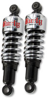 Burly Brand Chrome Rear Slammer Shocks