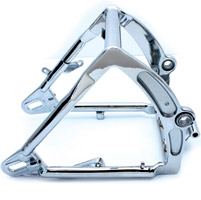 Chrome FXST Swingarm