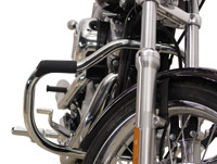 V-Twin Manufacturing Chrome Highway Bar with Footrest