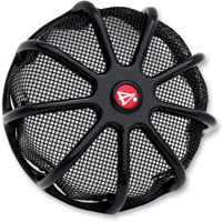 Battistinis Wireframe Black Air Filter Cover Kit with Black Screen